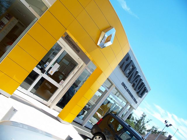 photo d'une concession renault