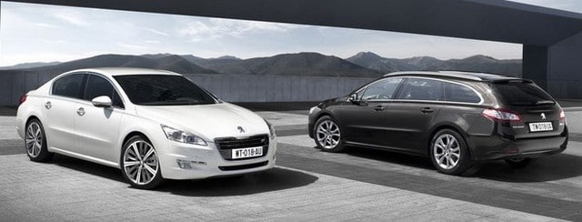 les peugeot 508 break et berline