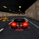 big city racer dans un tunnel