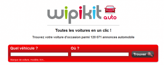 le site internet wipikit auto