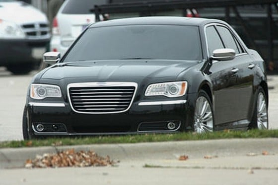 une photo volee de la Chrysler 300C 2012