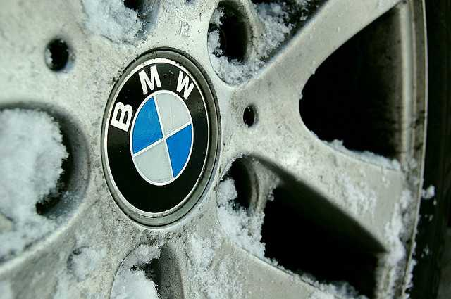 roue bmw enneigee