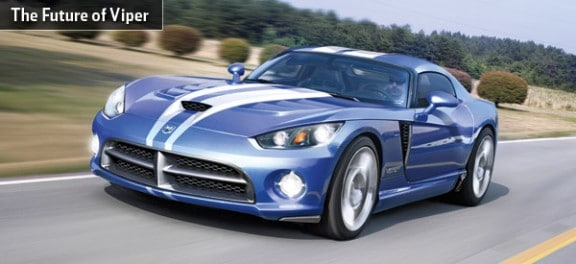 la future dodge viper commercialisee en 2012