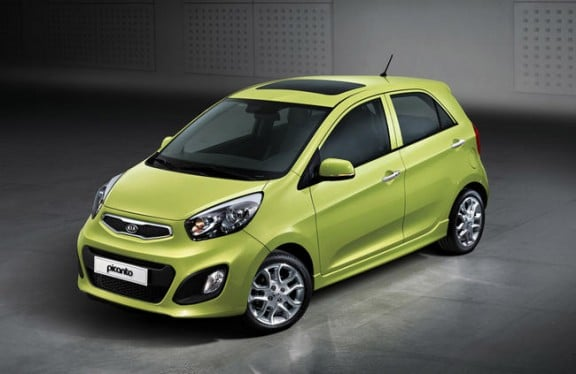 kia picanto 2011 face avant photo officielle