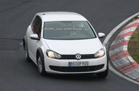 la vw golf 7 prise en phase de tests
