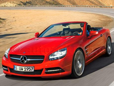 le coupe mercedes sl 2012