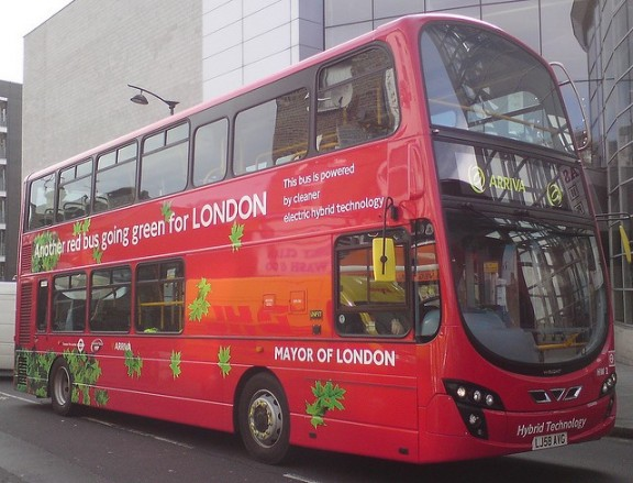 photo d'un Wrightbus à londres