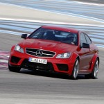 La Mercedes C63 AMG Black Series sur circuit