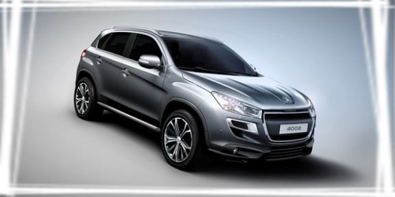 photo officielle du peugeot 4008 2012