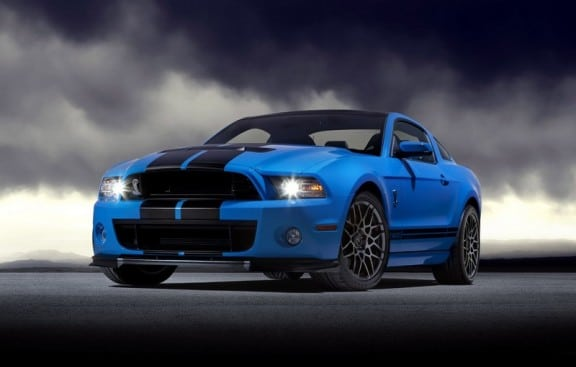 la nouvelle ford mustang shelby gt500 2012