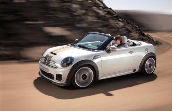 la mini roadster cabriolet 2012