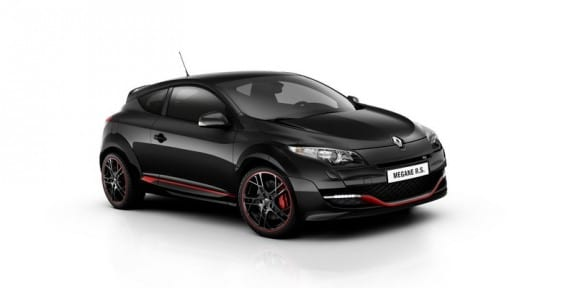 la Renault Megane RS Collection 2012 en vue 3/4 avant
