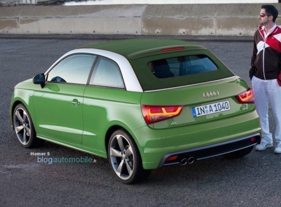 l'audi a1 en version soft top