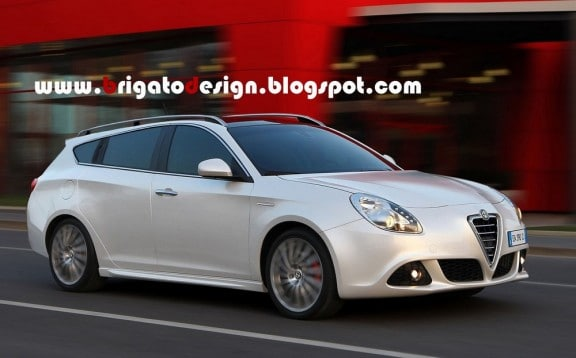 l'alfa romeo giulietta dans sa version break