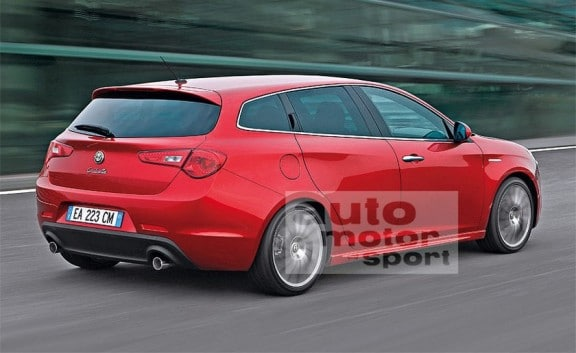 l'alfa romeo giulietta sw, la version break en 2013