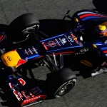 la f1 red bull 2012 et son avant
