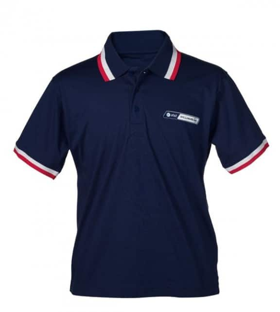 le polo officiel williams f1 at&t