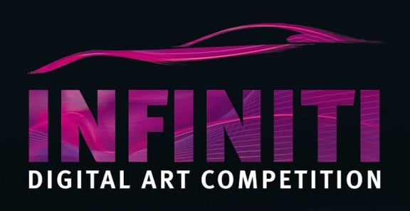 le logo du concours infiniti curved visions