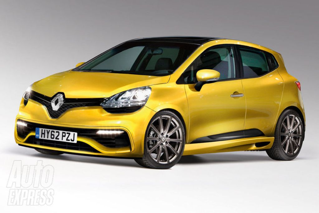 la face avant de la future clio rs 2012