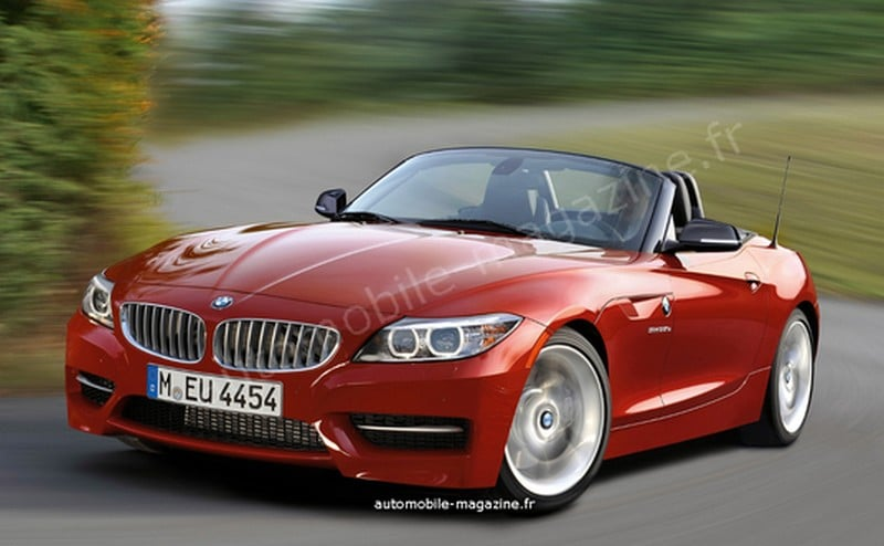 bmw z4 2013 restyl moteurs et date de sortie. Black Bedroom Furniture Sets. Home Design Ideas