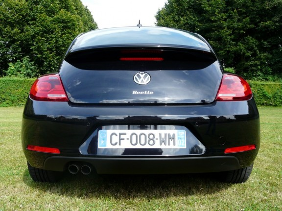la poupe de la vw new beetle