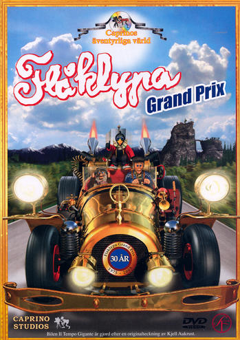 le dvd Flaklypa Grand Prix