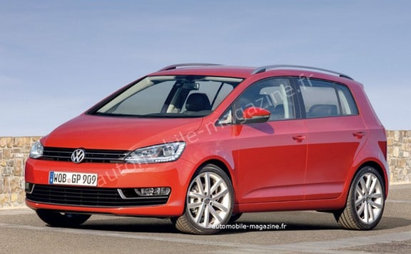 VW Golf VII Plus : la version monospace de la Golf reconduite