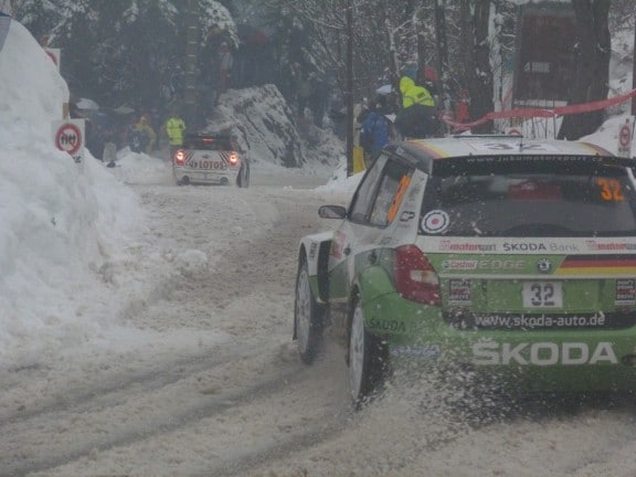 skoda fabia vs mini countryman wrc