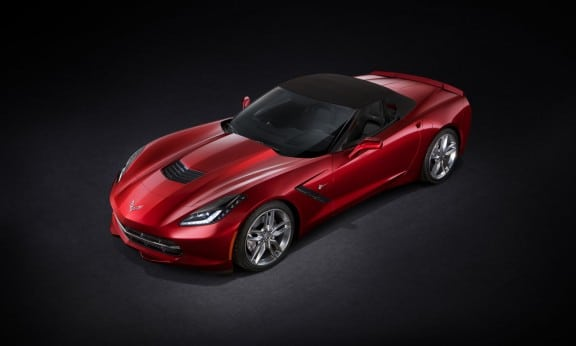 la nouvelle corvette decapotable