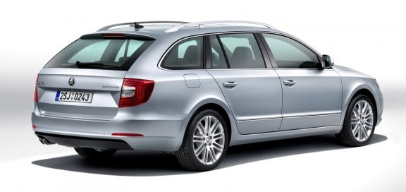 restyling de la skoda superb break