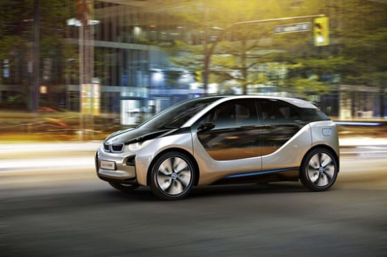 photos vol es la bmw i3 se montre un peu plus sortie 2013. Black Bedroom Furniture Sets. Home Design Ideas