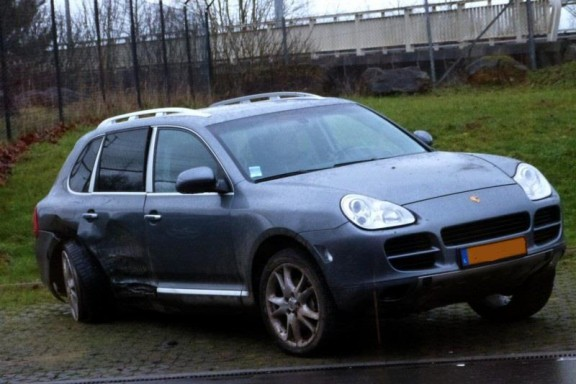 Accident Porsche Cayenne