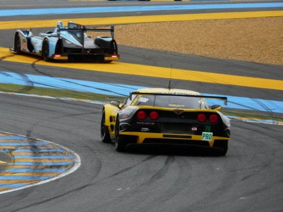 chevrolet corvette c6 zr1 vs morgan lmp2-judd