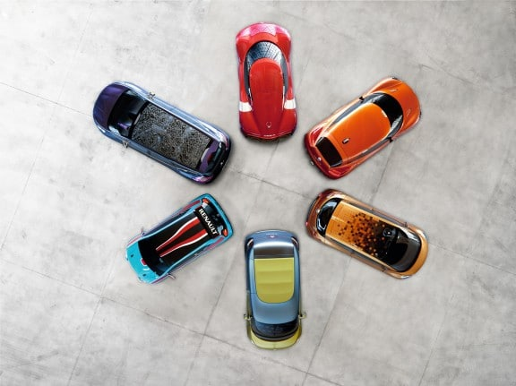GAMME CONCEPT-CARS RENAULT