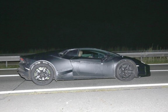 Lamborghini Cabrera Spy Photos