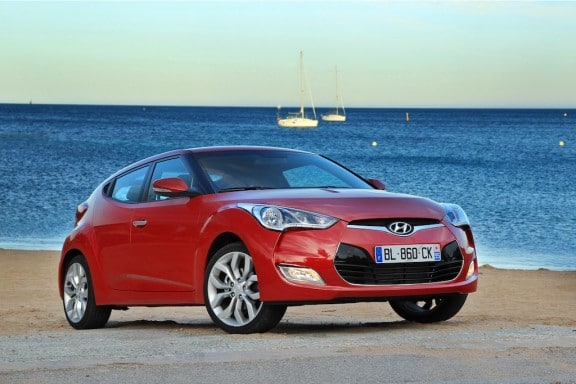 Hyundai Veloster atmospherique
