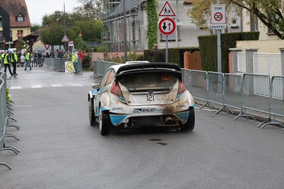 fiesta rallye accidentee