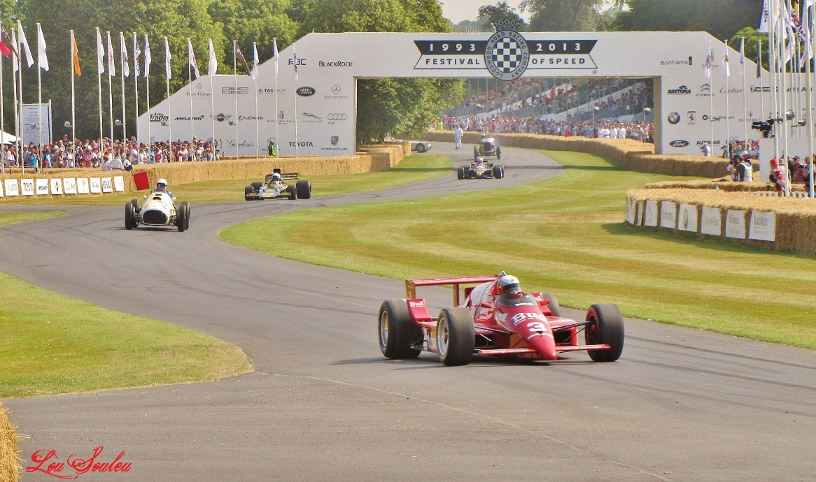 Goodwood, Festival of Speed 2013 – Part 1. The race.