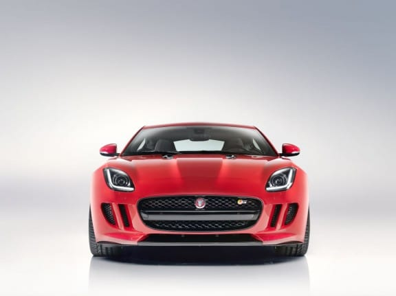 Jaguar F-Type Coupé - Face avant