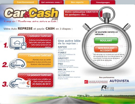 site car and cash
