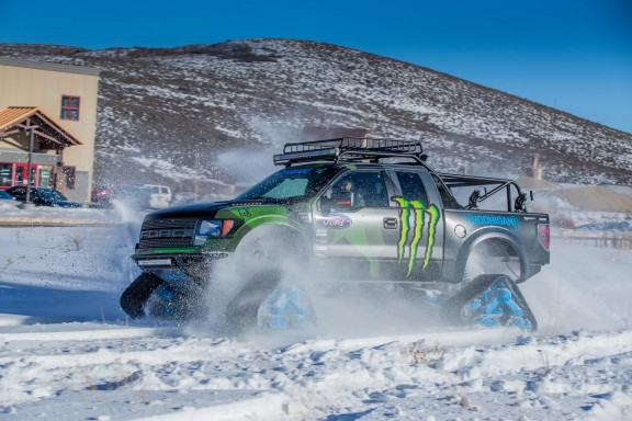 Ford-F150-neige chenilles