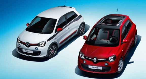 Renault-Twingo-blanche-rouge-toit-ouvrant