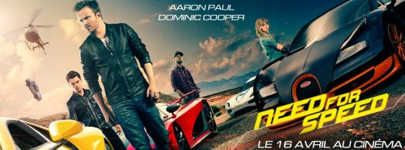 Need For Speed : un bon film de bagnoles de course pour patienter avant la sortie de Fast and Furios 7 un an plus tard, en avril 2015 ?