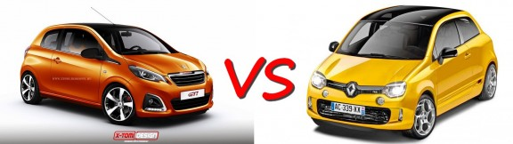 twingo 3 RS VS 108 GTI