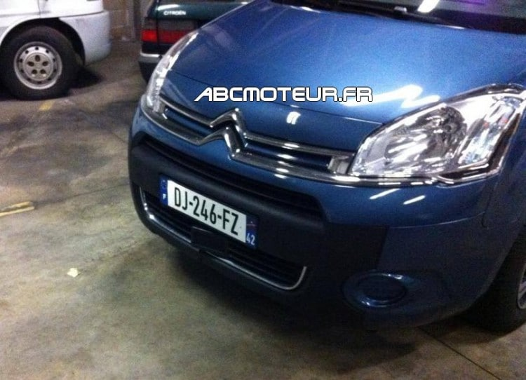 Citroen Berlingo radar mobile mobile DJ 246 FZ dep 42
