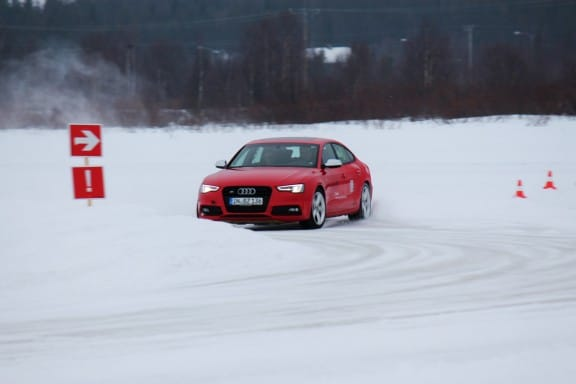 powerslide audi ice race