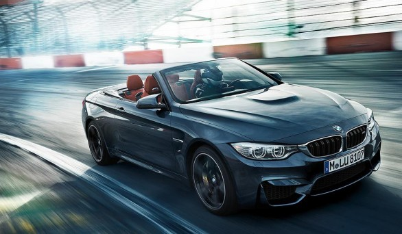 BMW M4 cab race