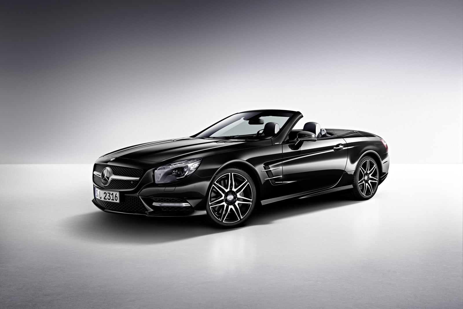 Le roadster Mercedes SL laisse place au V6 turbo