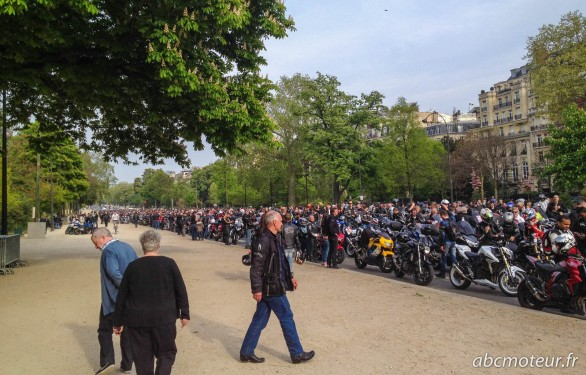 manif moto 12 avril paris