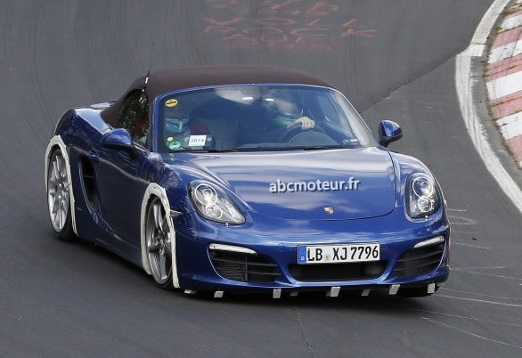 Boxster 4 cylindres turbo photo espion